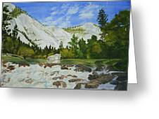 Yosemite Park Greeting Card