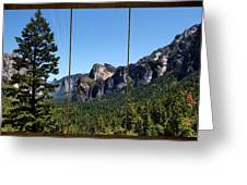 Yosemite Triptych Greeting Card