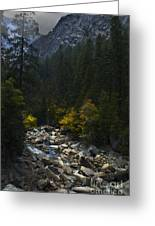Yosemite Valley Greeting Card