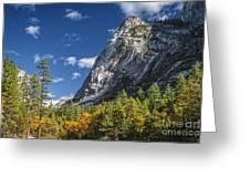 Yosemite Valley Rocks Greeting Card