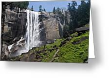 Yosemite's Mist Falls Greeting Card