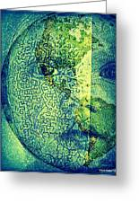 You Are A Sacred Gift To Be Shared With All Humanity Greeting Card by Paulo Zerbato