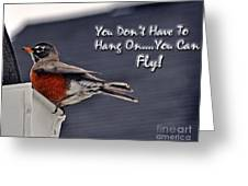 You Can Fly Greeting Card