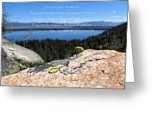 You Can Make It. Inspiration Point Greeting Card