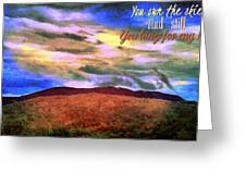 You Own The Skies Greeting Card