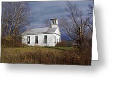Youkers Bush Baptist Church Greeting Card