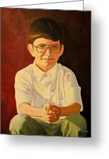 Young Boy Greeting Card