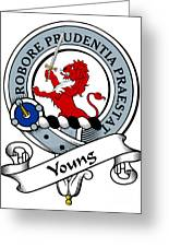 Young Clan Badge Greeting Card