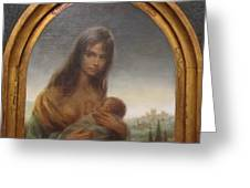 Young Mother Of Urbino Greeting Card