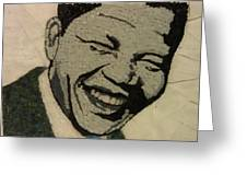 Young Nelson Mandela Greeting Card