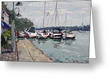 Youngstown Yachts Greeting Card