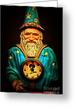 Your Fortune Be Told By The Wizard Fortune Telling Machine 7d144 Greeting Card