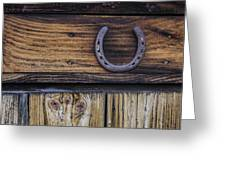 Your Lucky Horseshoe Greeting Card