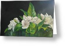 Your Mother's Gardenias Greeting Card