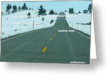 Your Road Greeting Card