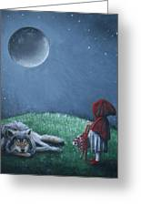 Youre Just A Big Bad Wolf. Greeting Card