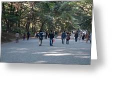 Yoyogi Park Greeting Card