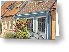 Ystad Cottages Greeting Card