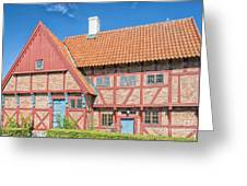 Ystad Old Mayors House Greeting Card