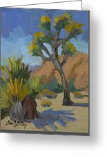 Yucca And Joshua Greeting Card