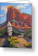 Yucca At Sedona Greeting Card