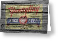 Yuengling Bock Beer Greeting Card