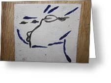 Yuko - Tile Greeting Card