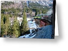 Yukon Railroad 3 Greeting Card