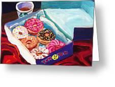 Yum Yum Donuts Greeting Card