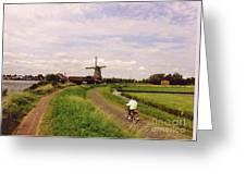 Zaanse Schans Greeting Card