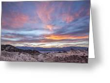 Zabriski Colors Greeting Card