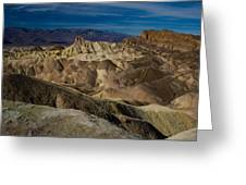 Zabriskie Point 2 Greeting Card
