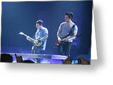 Zach And Syn Greeting Card