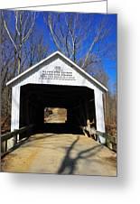 Zacke Cox Covered Bridge Greeting Card