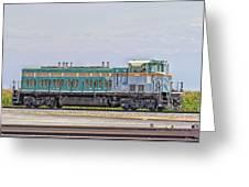 Foster Farms Locomotive Greeting Card