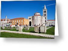 Zadar Historic Architecture Greeting Card