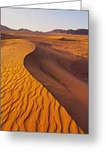 Zagora Desert In Morocco Greeting Card