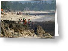 Zanzibar Beach 14 Greeting Card