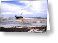 Zanzibar Boat 22 Greeting Card