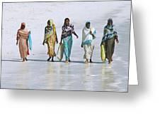 Zanzibar Women 02 Greeting Card