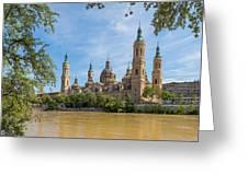 Zaragoza, Zaragoza Province, Aragon Greeting Card