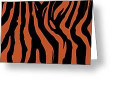 Zebra Print 003 Greeting Card by Kenneth Feliciano