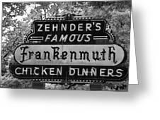 Zehnder's Black And White Greeting Card