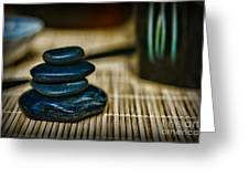 Zen Balance Is Key Greeting Card