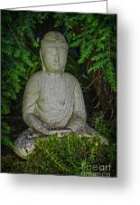Zen Buddha Greeting Card