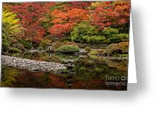Zen Foliage Colors Greeting Card