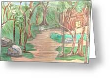 Zen House Greeting Card