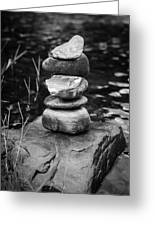 Zen River Vii Greeting Card