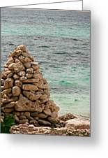 Zen Rocks In Paradise Greeting Card
