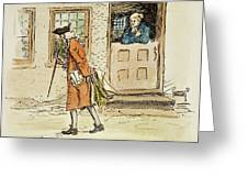 Zenger And Bradford, 1730s Greeting Card